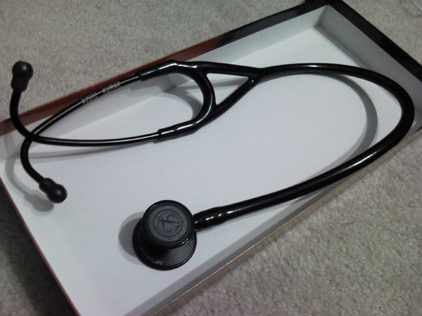 Littmann cardio 3 black edition.